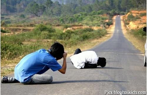 Hình ảnh vui về những nhiếp ảnh gia cừ khôi