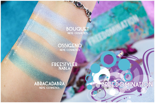 freestyler comparazioni nabla cosmetics freedomination collection summer eyeshadow