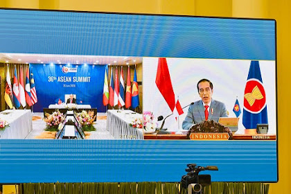 Presiden Jokowi Ikuti Pembukaan KTT Ke-36 ASEAN