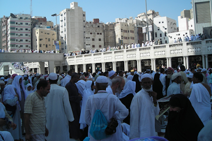 Kisah Haji Tamu Raja Arab Saudi (3): Antara Hajar Aswad dan Arbain
