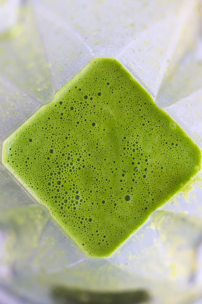 Green Coconut Pasta Sauce