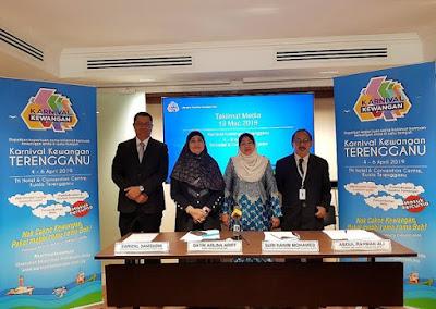 Bank Negara Malaysia Anjur Karnival Kewangan Terengganu di TH Hotel and Convention Centre pada 4 – 6 April 2019