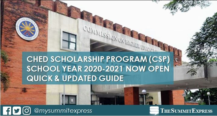 CHED Scholarship Program 2020