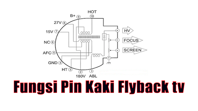 Fungsi Pin Kaki Flyback tv