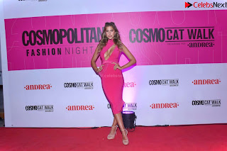 Kara Dell Toro In Stunning Pink Gown at Cosmopolitan Fashion Night in Mexico .xyz Exclusive Pics 003