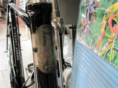 Bianchi bike restoration