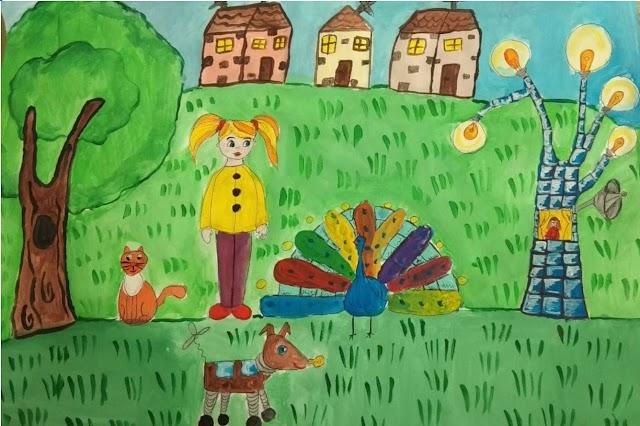 UE//  Tinerii din raionul Leova promovează eficiența energetică prin desen