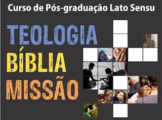 Pós-graduação FLT - Teologia, Bíblia e Missão