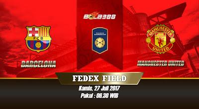 Prediksi Skor International Champions Cup, Barcelona vs Manchester United 27 Juli 2017