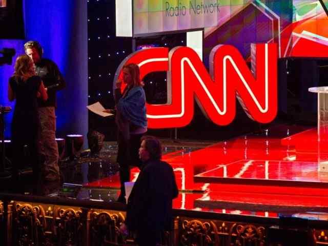 CNN instalou sede em local que ela anuncia que as águas vão tragarf