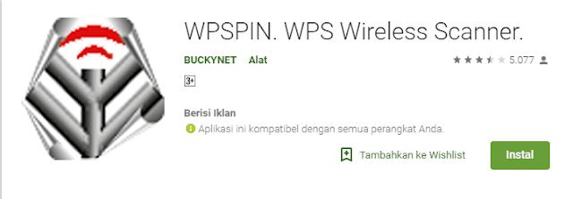 Download Aplikasi WPSPIN WPS Wireless Scanner Android Gratis
