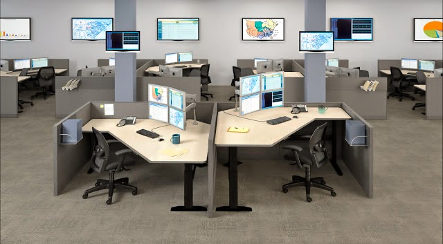 Multi Screen Monitor Mounting System