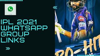 WhatsApp Group Links IPL 2021