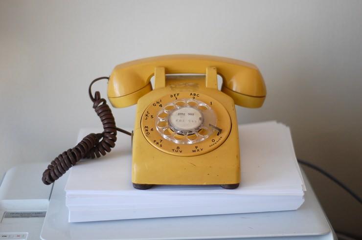 4- Çevirmeli Telefon