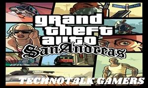 GTA San Andreas Highly Compressed (500 MB)