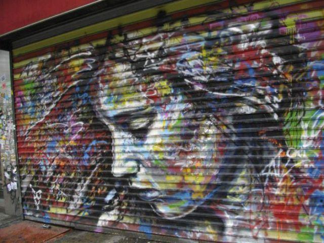 Mural en la calle