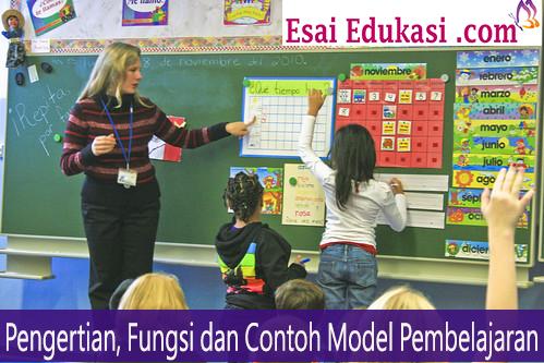 Pengertian, Fungsi dan Contoh Model Pembelajaran