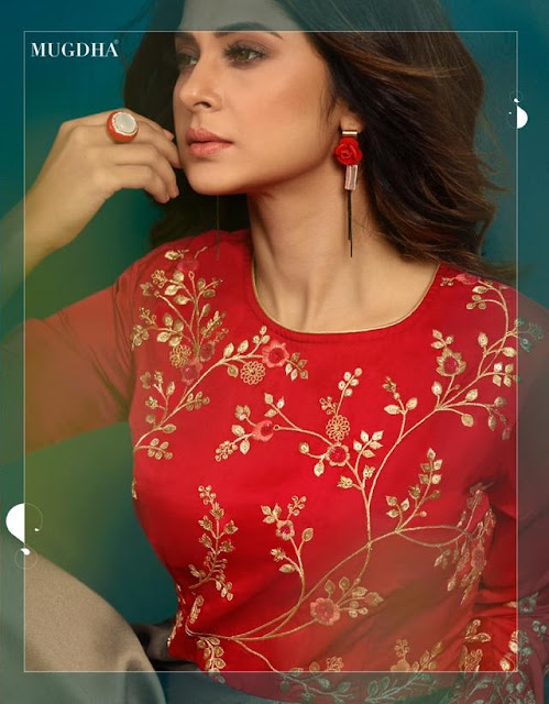 Mugdha Elite 2 Party wear Indo western Gown Manufacture