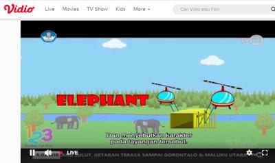 Belajar dari Rumah live streaming TVRI