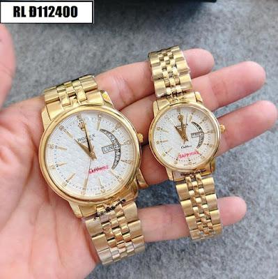 đồng hồ cặp đôi Rolex Đ112400