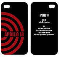 Apollo 18 edition iPhone case