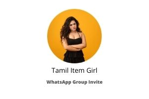 tamil item whatsapp group link