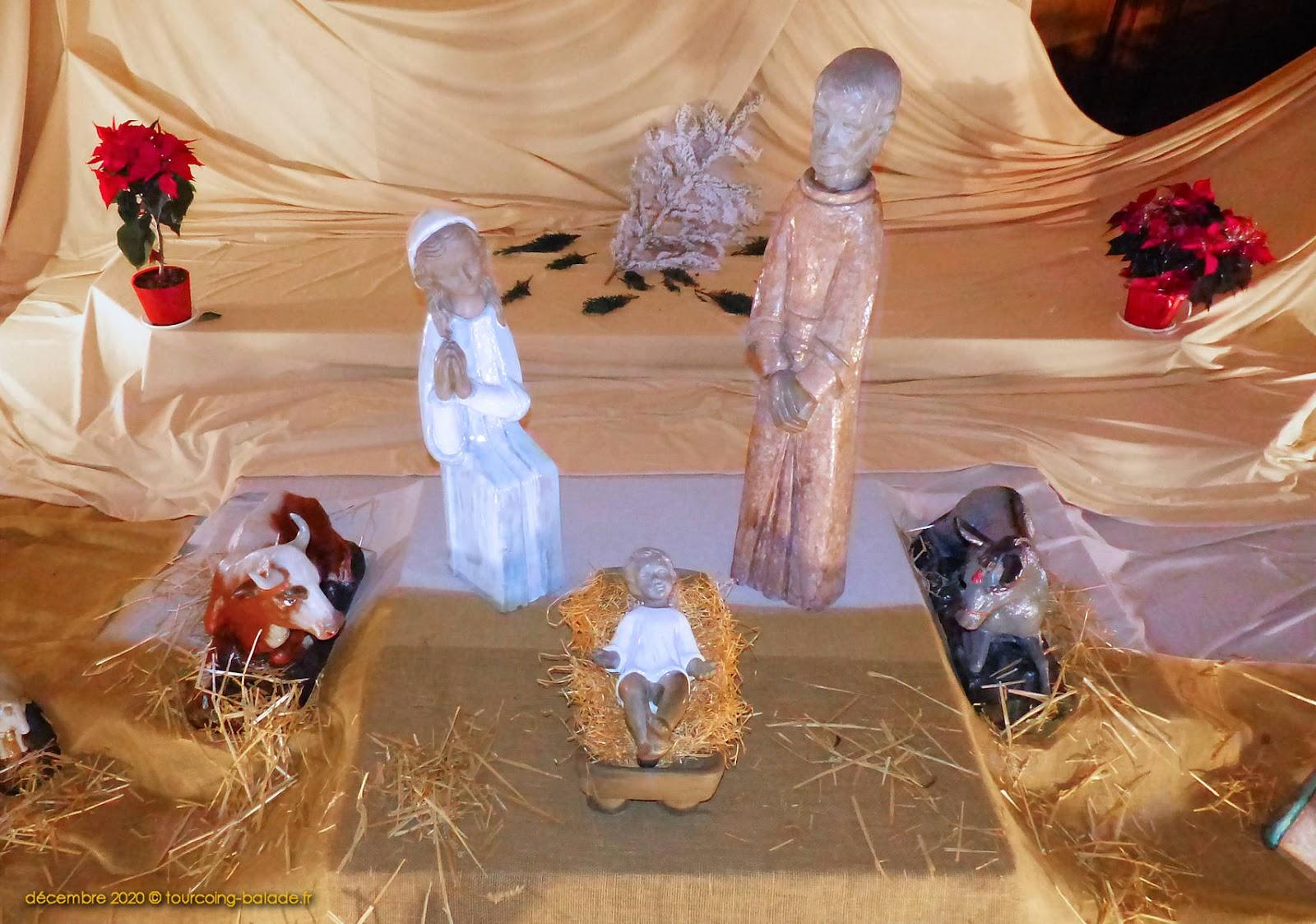 Nativité crèche Saint-Christophe, Tourcoing 2020