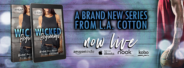 [New Release] WICKED BEGINNINGS by LA Cotton @authorlacotton #Review #Giveaway
