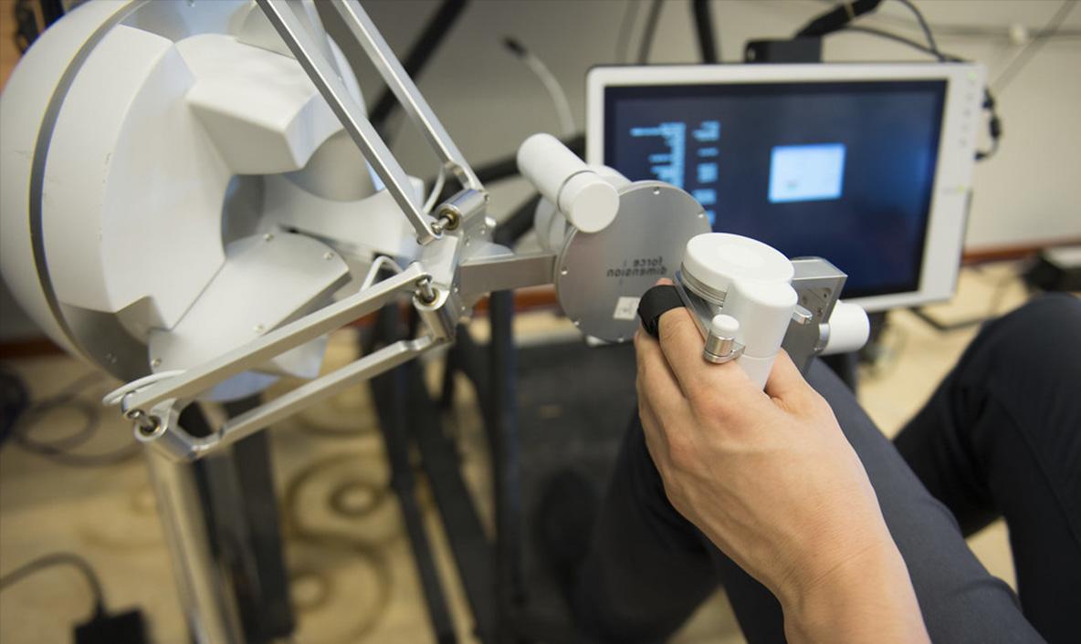 Le controle d'un robot