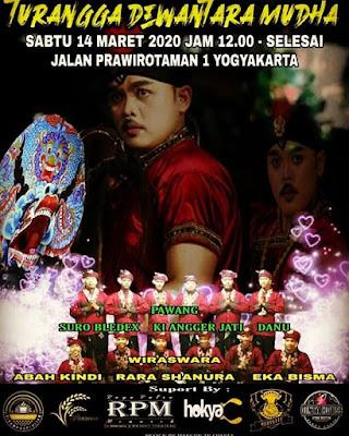 14 Maret 2020 - 12.00 - Turonggo Dewantara Mudha - Jl Prawirotaman 1 Yogyakarta