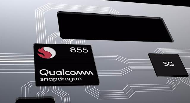 Snapdragon 855 أول معالج يدعم شبكات الجيل الخامس 5G في جوالات 2019