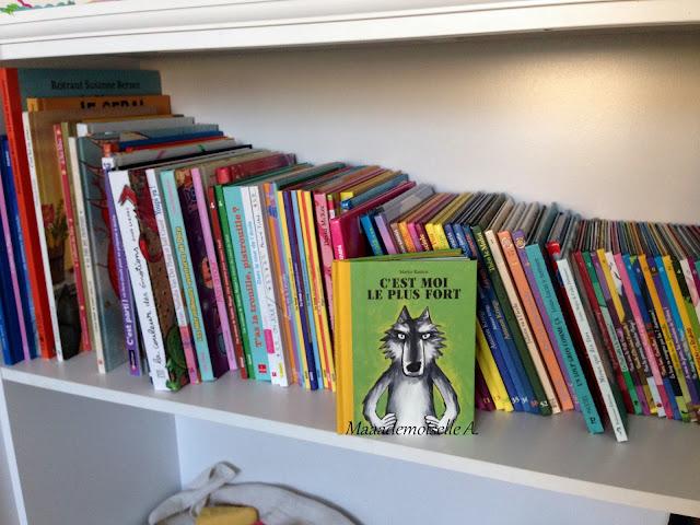 Bibliothèque enfant - C'est moi le plus fort