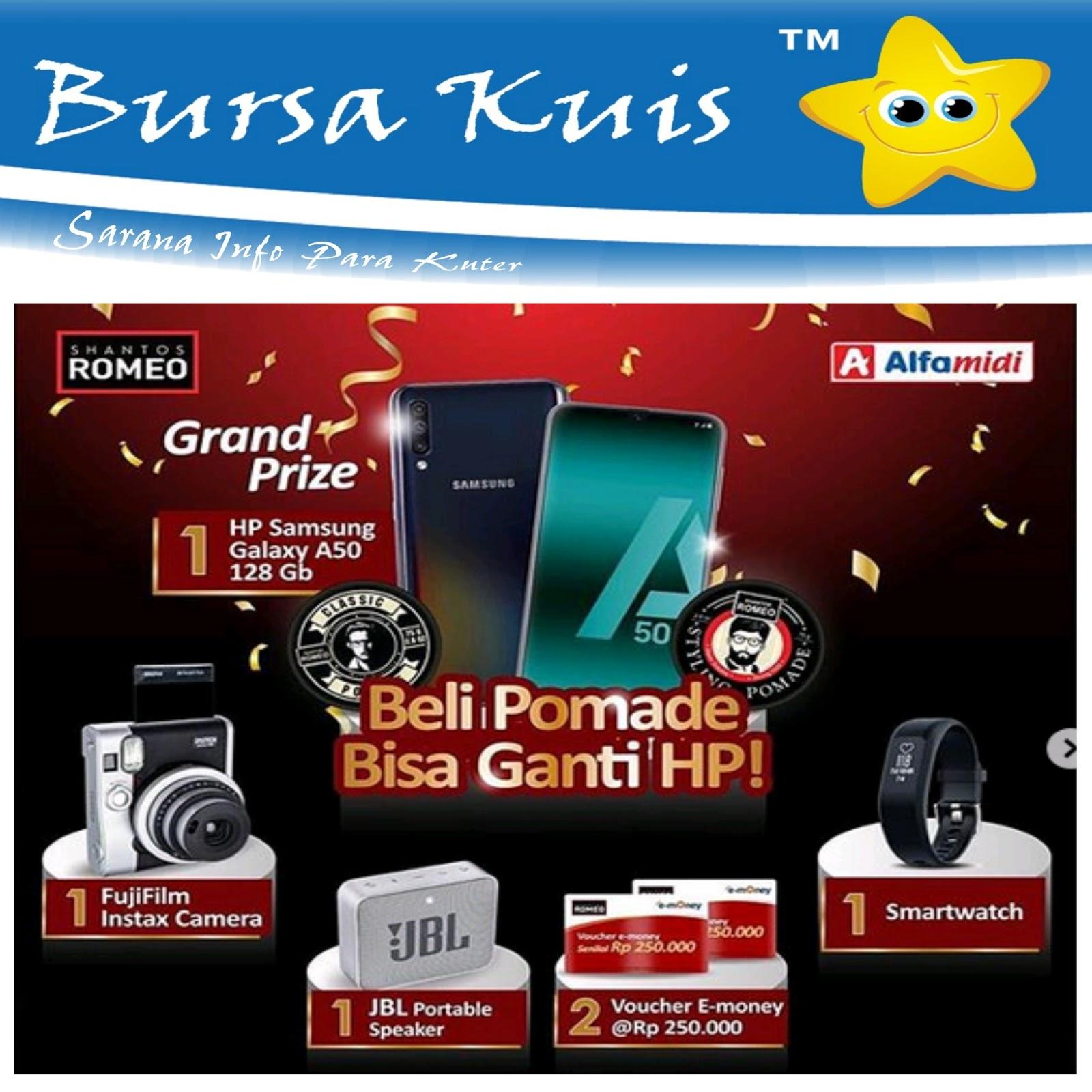 Kuis Promo Pomade Bersama Alfamidi Berhadiah Smartphone Samsung ...