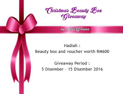 Christmas Beauty Box Giveaway Worth RM600 by Anil Wanina