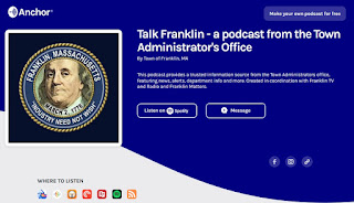 "FM #266 ""Talk Franklin""  TA Jamie Hellen; Anne Marie Tracey 5/08/20 (audio)"