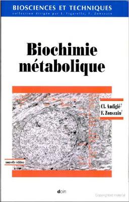 Télécharger Livre Gratuit Biochimie métabolique pdf