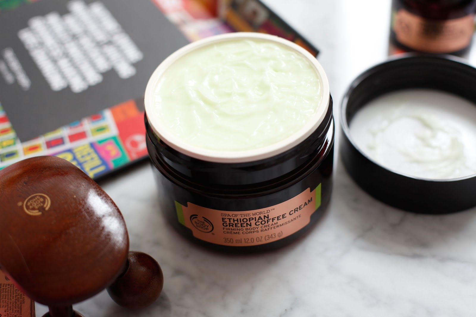 iu0027m a big fan of the body shop body butters and this one is perfect for summer ethiopian green coffee cream has slightly different texture it feels light