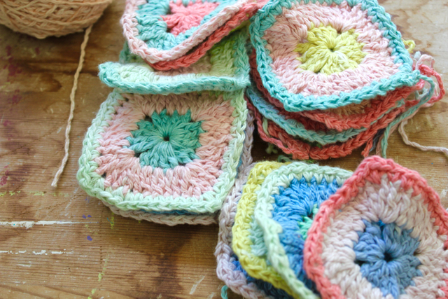 Little Woollie Solid Granny Square Pattern My Version