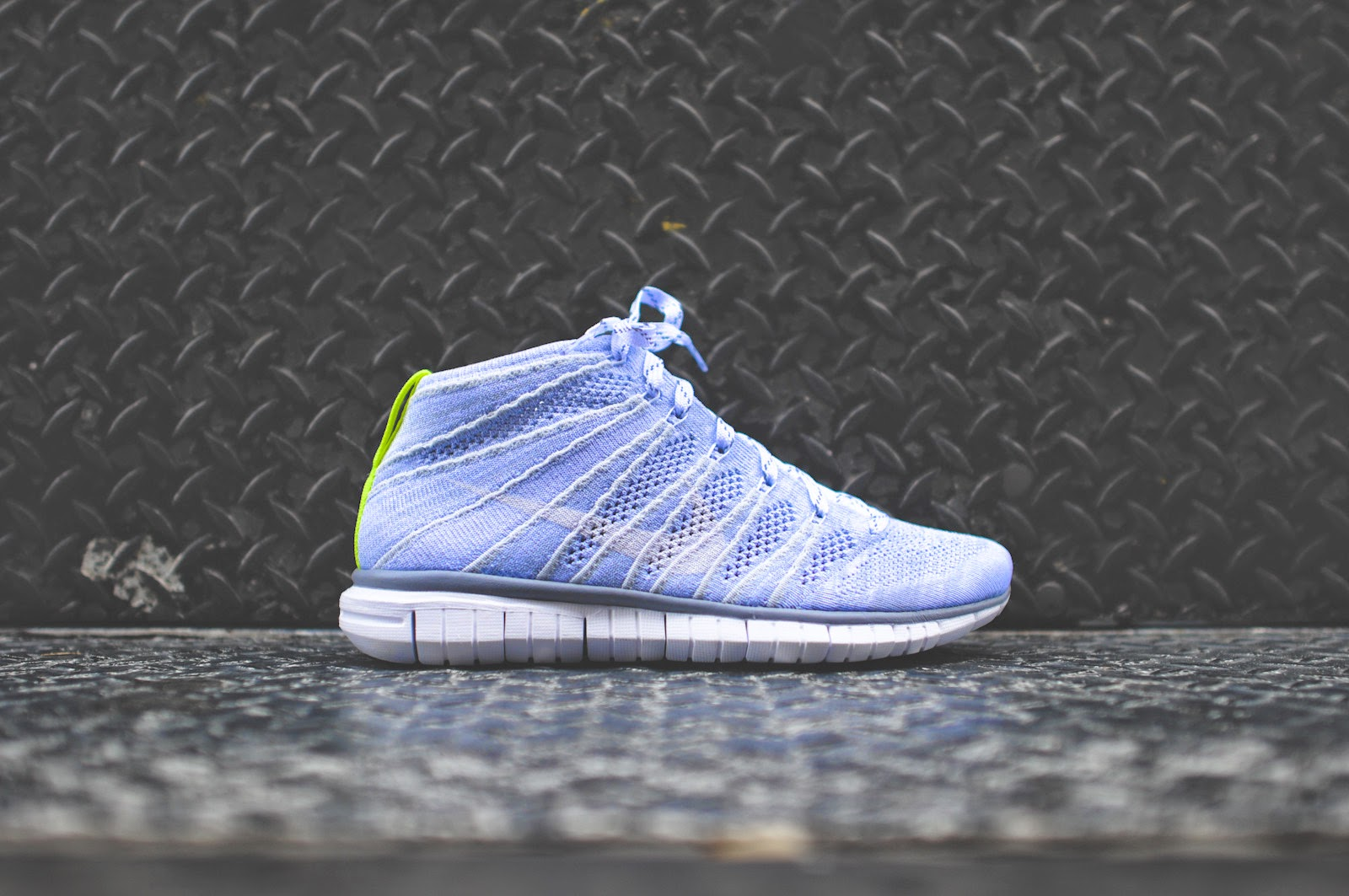 finest selection cb21a 5d449 Nike WMNS Free Flyknit Chukka - Wolf Grey   White   Nike 639699-001