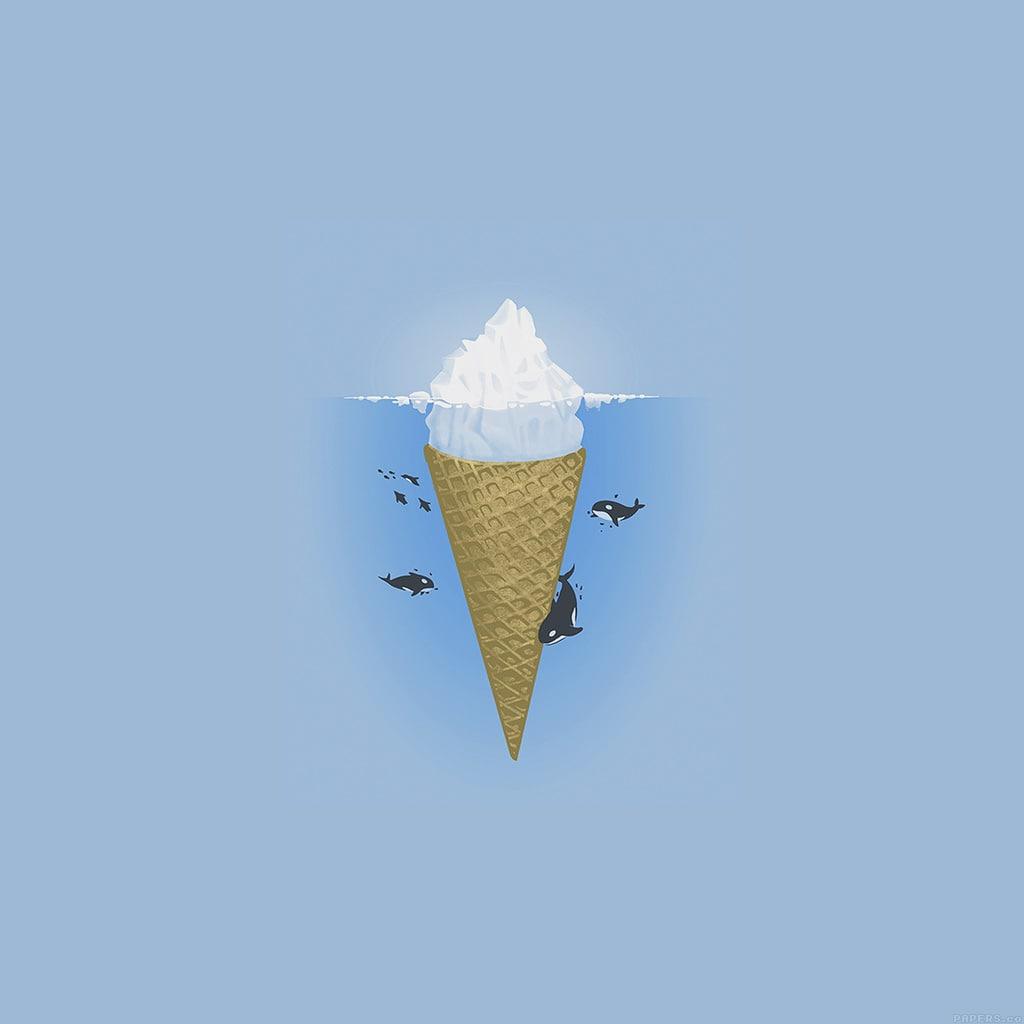 wallpaper, cono gelato