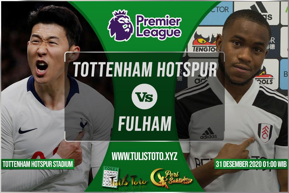 Prediksi Tottenham Hotspur vs Fulham 31 Desember 2020