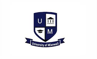 University of Mianwali UMW Jobs 2021 Registrar & Treasurer
