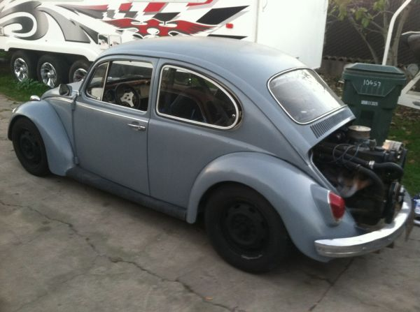 Daily Turismo: 3k: BugStang: 1969 Volkswagen Beetle w/ Ford