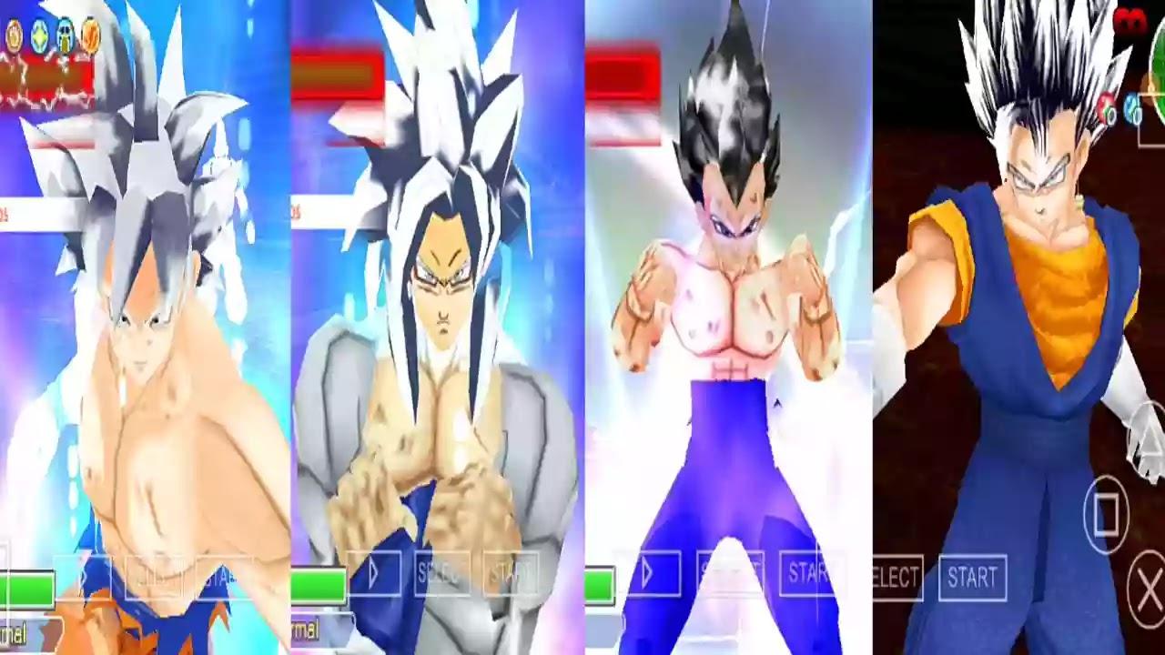 Vegeta and Vegito Mastered Ultra Instinct