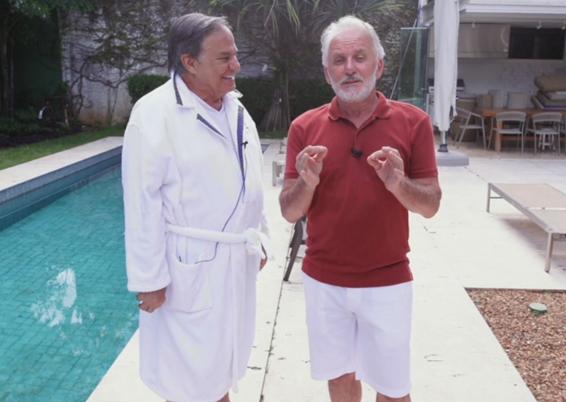 Otávio Mesquita entrevista Ronnie Von nesta quinta e Mauro Beting na sexta