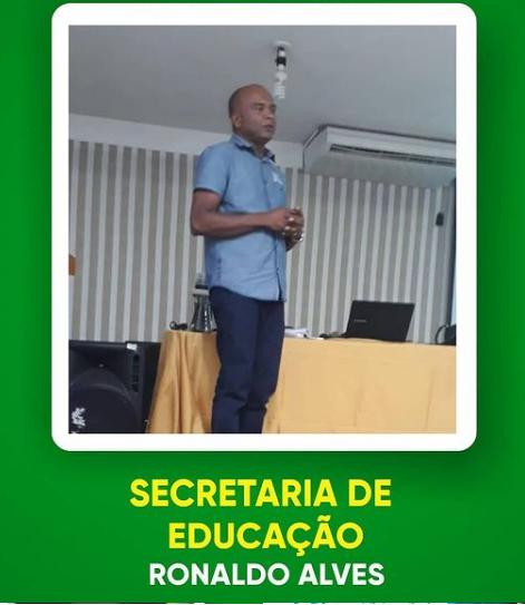 Prefeito eleito de Caém Arnaldinho Oliveira escolhe mas um Secretário da Gestão 2021  dessa vez da Educação foi Ronaldo Alves