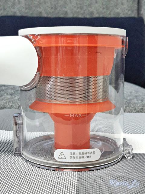 【MI 小米】米家無線吸塵器 G9 (白色) 開箱_集塵桶