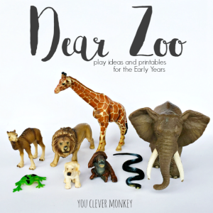Dear Zoo Printables and Play Ideas