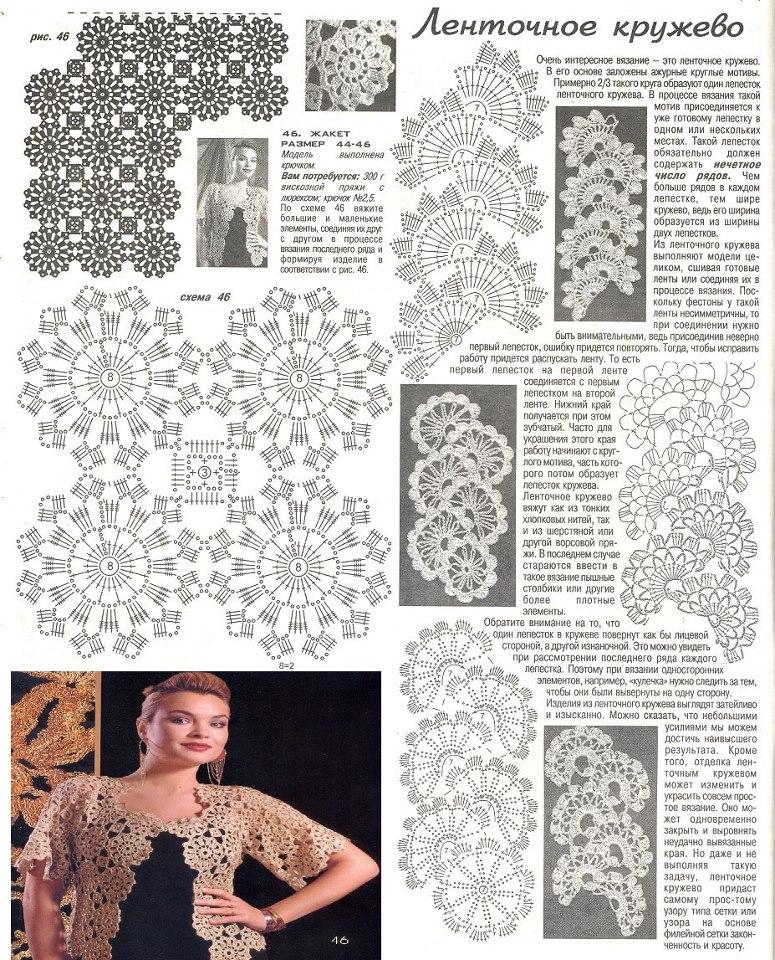 Único Los Patrones De Crochet Libre Para Shrugs Colección - Ideas de ...