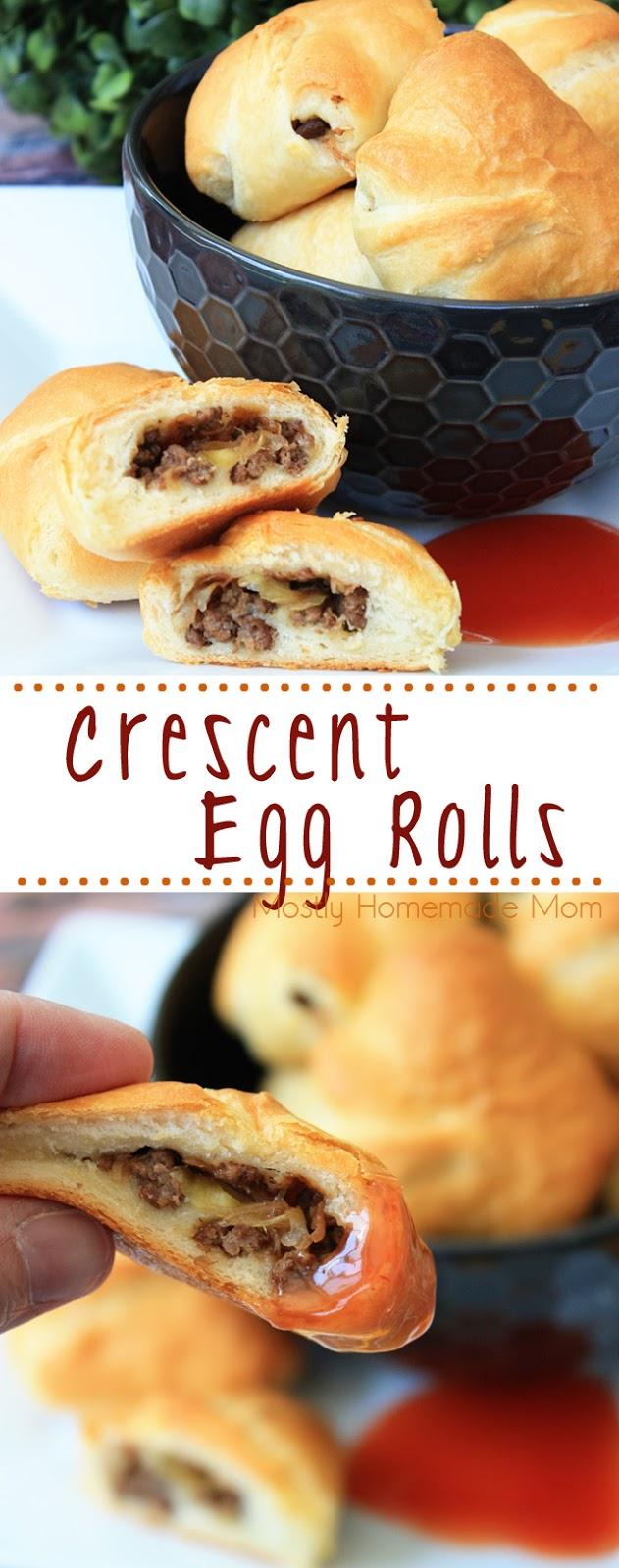 Egg Roll Crescent Rolls recipe